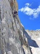 Rock Climbing Photo: Adam soloing P1