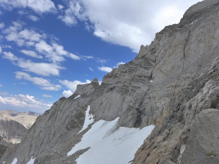 E Arete from the NE Ridge