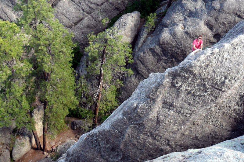 Rock Climbing Photo: Shark's Fin Summit