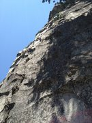 Rock Climbing Photo: looking up at the start