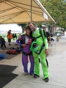 Rock Climbing Photo: with Mark Brown at Perris Drop Zone