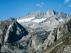 Rock Climbing Photo: Middle Palisade as viewed from North Fork of Big P...