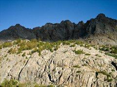 Rock Climbing Photo: Day break above Sam Mack Meadow