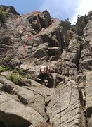 Rock Climbing Photo: Beer Dog, Hound's Tooth, and Canine Corner.
