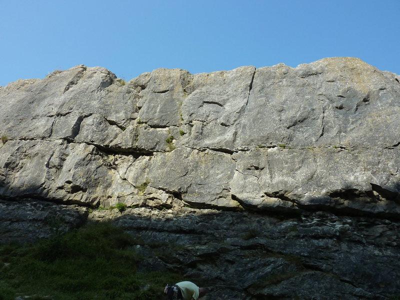 Rock Climbing Photo: The Block Slab.