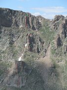 Rock Climbing Photo: The Black and Tan Towers.