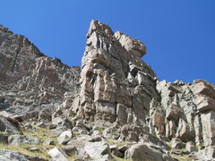 Rock Climbing Photo: The second tower. The OW is in the center.