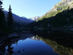 Rock Climbing Photo: Glacier Gorge trail.