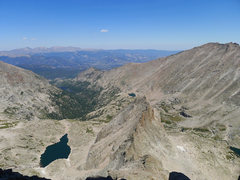 Rock Climbing Photo: The now diminutive Spearhead.