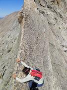 Rock Climbing Photo: Hand traversing fun.