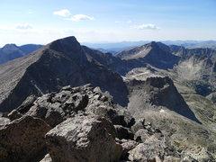 Rock Climbing Photo: Looking back at Chiefshead.