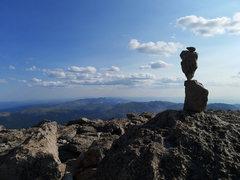 Rock Climbing Photo: Longs summit!