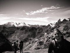 Hiking through Bolivia...
