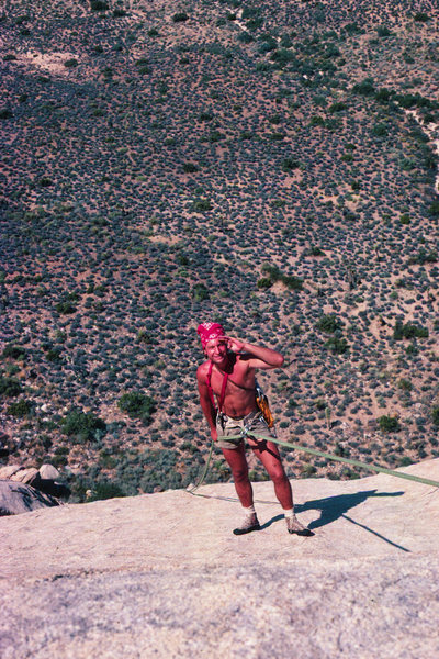 Rock Climbing Photo: The rap on WWS