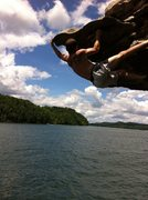 Rock Climbing Photo: DWS at Summerville lake