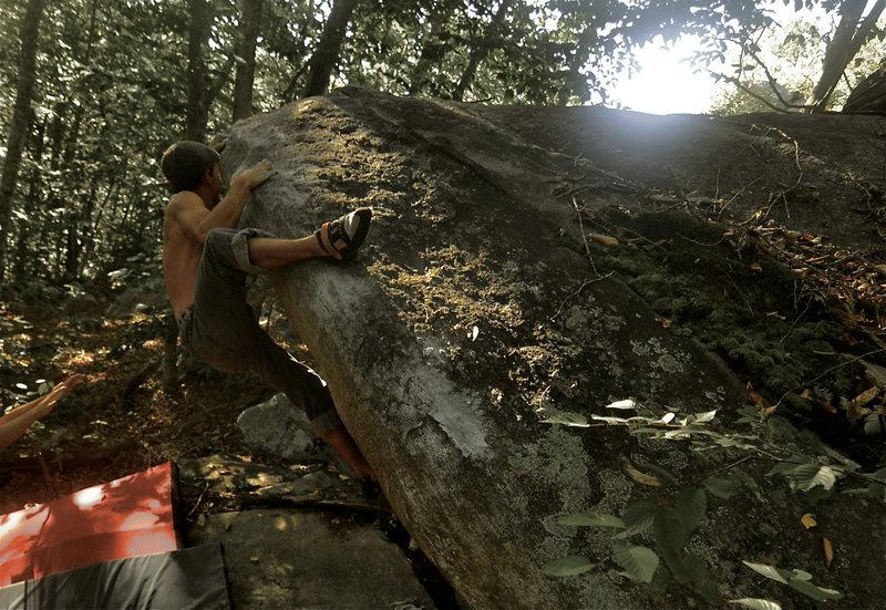 Rock Climbing Photo: JP