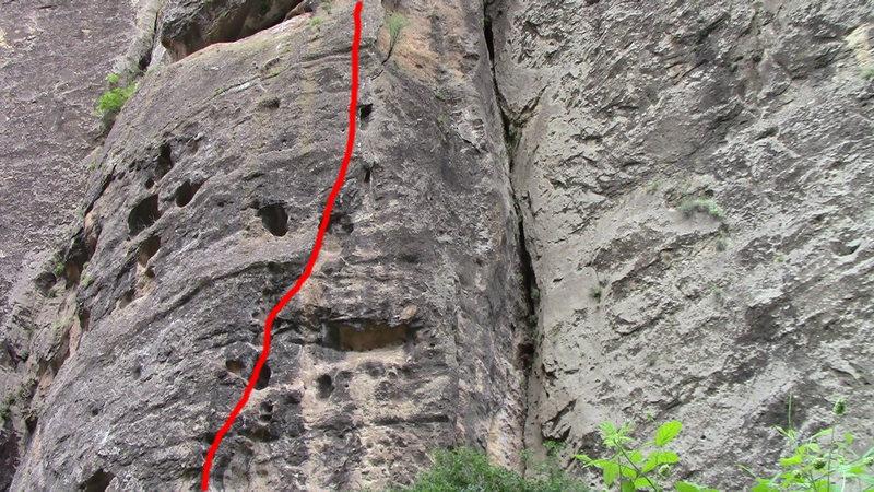 Rock Climbing Photo: Richter scale