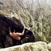 Rock Climbing Photo: Derrick Kwan on Executioner