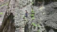 Rock Climbing Photo: Mkhitar on Rain blessing