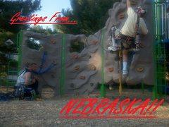 Rock Climbing Photo: Nebraska