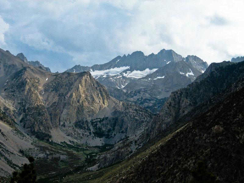 Rock Climbing Photo: Middle Palisade