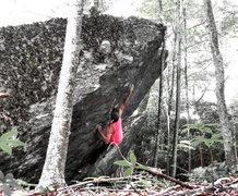 """Rock Climbing Photo: """"Revolver""""FA"""