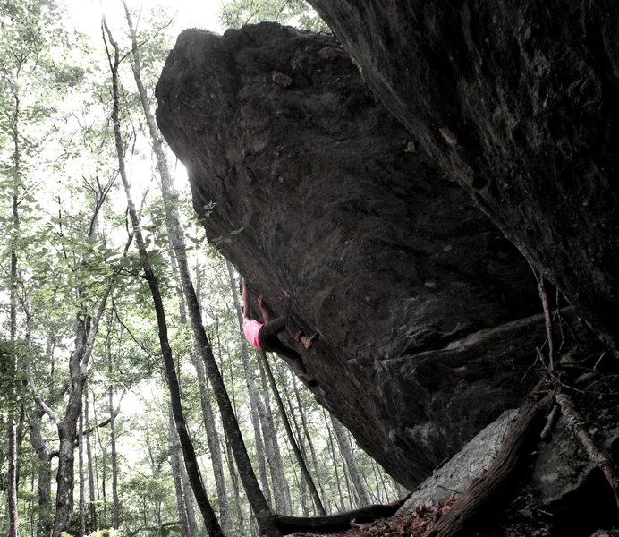 Rock Climbing Photo: Bulls, and the top out follows
