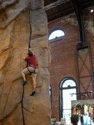 Rock Climbing Photo: REI Flagship Crack
