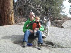 Rock Climbing Photo: Family Scouting at Turkey Rocks, Front Range, CO
