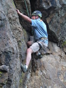 Rock Climbing Photo: Father in Law, Grip of Death, Emigrant Lake, Ashla...