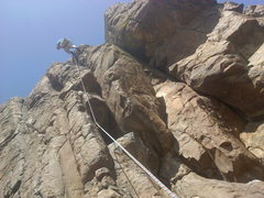 Rock Climbing Photo: Karbo and I on our first attempt at the Golden Cli...