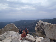 Rock Climbing Photo: First time leading fingertip with some great frien...