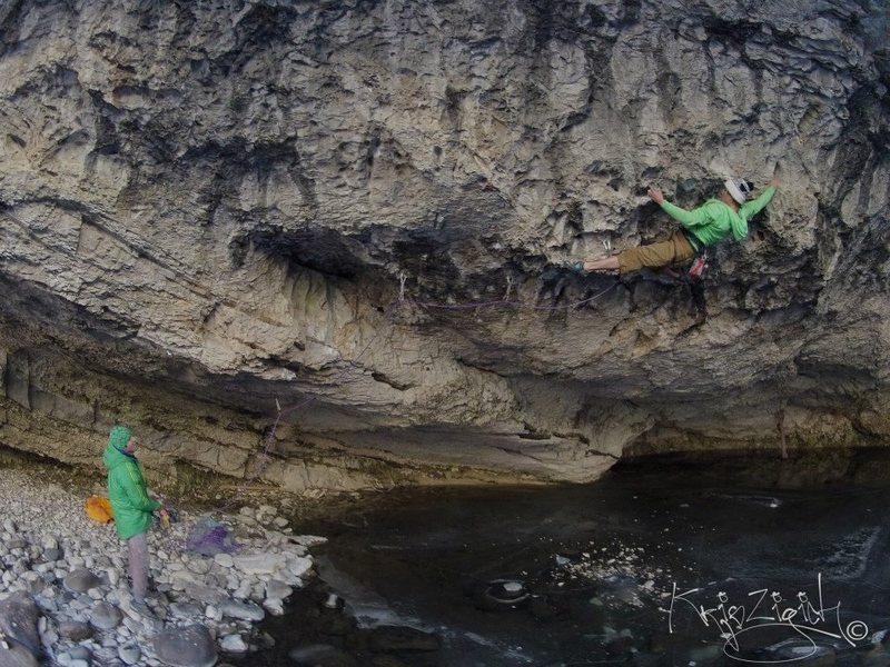 Rock Climbing Photo: Reflective Technique, Somewhere, MT