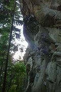 Rock Climbing Photo: fist jam in b'ham!!