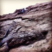 Rock Climbing Photo: Turkey Jerky.