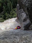 Rock Climbing Photo: Gazelle on P3 of Munginella