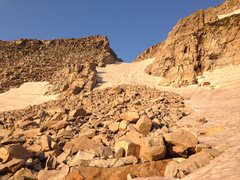 Rock Climbing Photo: Audubahn is mostly hard for front pointing, and th...
