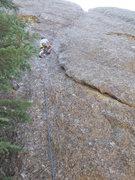 Rock Climbing Photo: Of Quartz it Goes