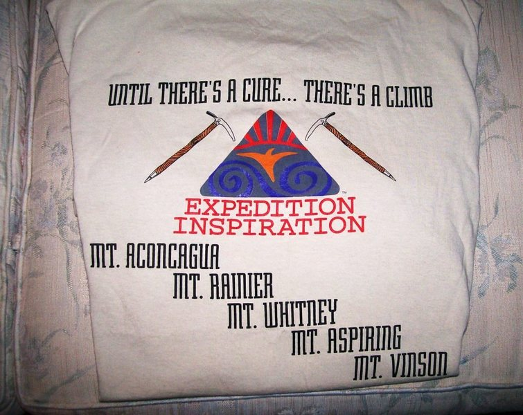 Expedition Inspiration, great cancer fund raisers!!