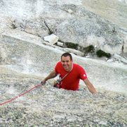Rock Climbing Photo: on crying time again, Tuolumne Meadows, CA