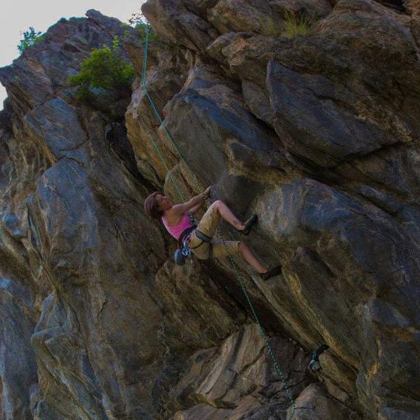 Rock Climbing Photo: Relative to Standing, 11-