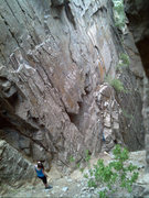 Rock Climbing Photo: The Narrows Corridor.