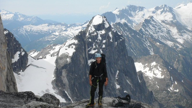Rock Climbing Photo: Pigeon-Howser Col