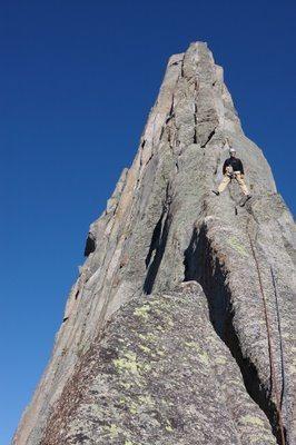 Rock Climbing Photo: Wolf's Head