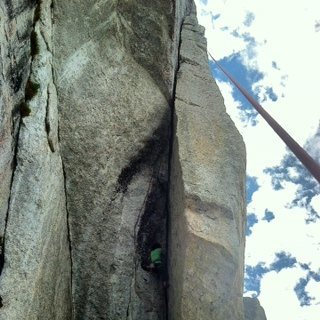 Rock Climbing Photo: A great steep line!