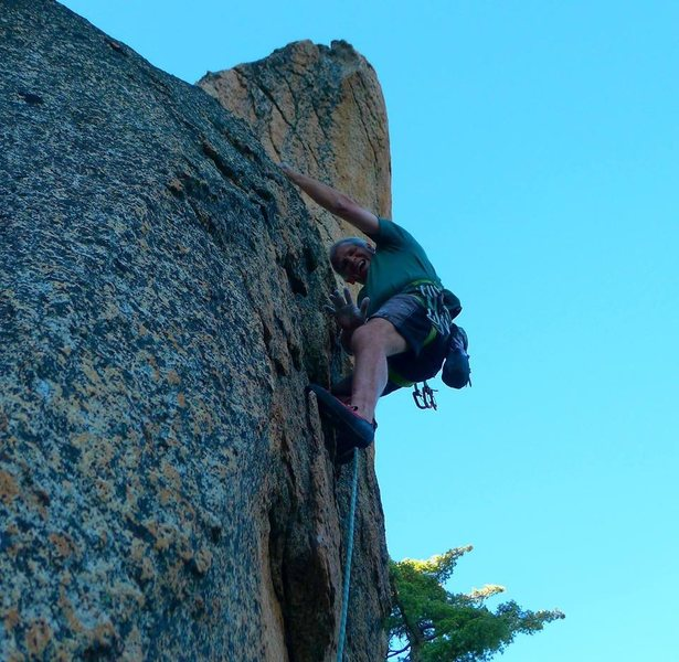Mike Arechiga on a new 5.9 at Dreamscape Domes
