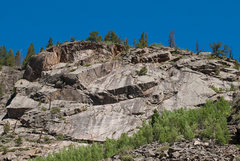 Rock Climbing Photo: Wichita Wall from the parking area.