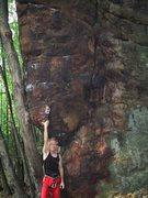 "Rock Climbing Photo: Starting ""Tomahawk"", Tomahawk Boulder &q..."