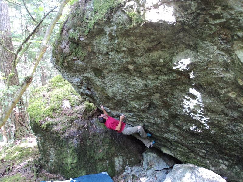 Rock Climbing Photo: Amazing project