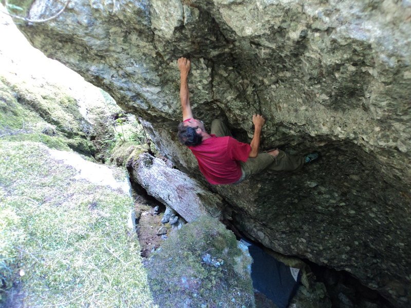 Rock Climbing Photo: Ender's
